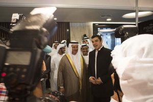 Sultan Ivan Kristoff Dubai Helishow 2012 Н. Пр. Султан бин Саед ан Мансури, Министъра на икономиката на Арабските обединени емирства,